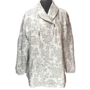 Croft & Barrow Asymmetrical Zip Pullover